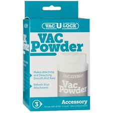 VACULOCK POWDER LUBRICANT LUBE FOR VAC-U-LOCK SYSTEM ADULT SEX TOY PENIS