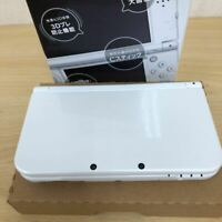 """Only Japanese"" Nintendo Japan New 3DS LL XL Pearl White Used Good Condition JP"