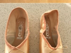 Freed of London pointe ballet shoes Pink Size 5 xxx - New in freed bag