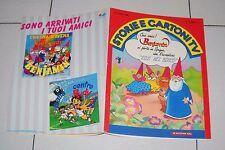 STORIE E CARTONI TV 12 del 1989 BENJAMIN - Cristina D'Avena libro segreto Gnomi