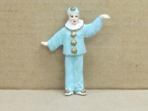 Clown Pierrette mit weiten Armen, Zinnfigur, handbemalt, Omen, 1:43, Version 2