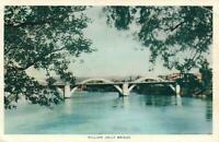 VINTAGE WILLIAM JOLLY BRIDGE, BRISBANE POSTCARD - USED but NOT POSTED