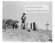 """James Arness Private Collection Gunsmoke """"Matt on Boot Hill""""   8 x 10  Photo"""