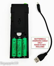 Rechargeable Battery Kit For County Comm GP-5/SSB & Tecsun PL-360  PL-365 Radio