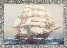 CUTTY SARK BY JACK SPURLING - POSTCARD