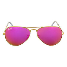 Ray-Ban Aviator Cylamen Flash Sunglasses 30251124T58