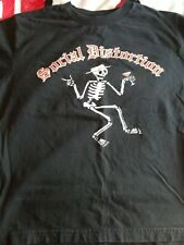 Social distortion shirt .. tag is (L) but would say it shrunk to (M)
