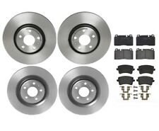 Front Rear Full Brembo Brake Kit Disc Rotors Low-Met Pads For Audi Q5 2013-2016