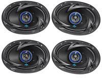 "(4) Autotek ATS693 6x9"" 1600 Watt 3-Way Car Audio ATS Serie Coaxial Speakers"