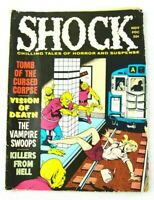 1970 RARE SHOCK Tomb Cursed Corpse Vintage Monster Magazine Comic Collectible