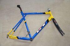 GT BICYCLES ZR1000 TEAM ROAD BIKE FRAME - 58cm - EASTON EC90 FORK, CHRIS KING
