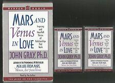 Men Are from Mars,Women Are from Venus By:JOHN GRAY,Ph.D,Hardcover/Cassett Tapes