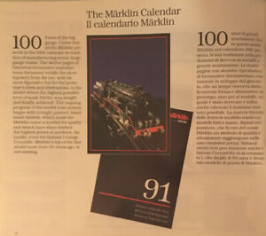 Märklin Calendar Gauge 1
