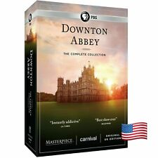 Downton Abbey Complete Series Collection Dvd Usa/Canada Same Day Shipping