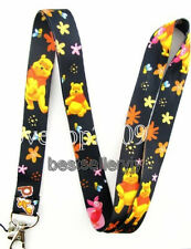 Lot 10 Pcs winnie the Pooh Neck mobile Phone lanyard Keychain straps charm Gifts