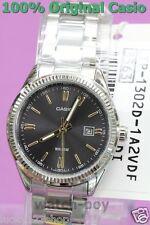 LTP-1302D-1A2 Brand-New Genuine Japan Casio Uhr Schwarz WR 50M Edelstahl