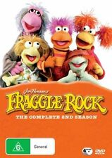 Fraggle Rock :Season 2 (DVD, 4-Disc Set) ~NEW & SEALED ~Fast Overseas Shipping