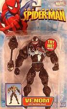 The Amazing Spiderman 2006 Venom (Black) with Symbiote Blast By Toy Biz (MOC)