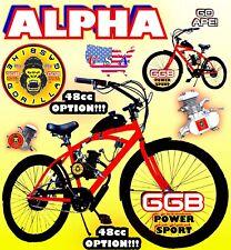 """66cc/80cc 2-Stroke Motorized Bike Kit With 26"""" Bicycle Powerful 48cc Option Diy"""