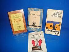 Libro cuatro libros diferentes NARRATIVA ESPAÑOLA-observa los titulos
