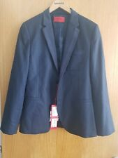 hugo boss blue blazer, size 46, new condition, with price tags