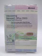 PC software-Microsoft Office 2000 Professional (nuevo)
