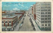 Oklahoma City: Campbell's? Long White Delivery Truck~Ess Sale~1922 Postcard pc