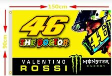 VR46 Flagge Fahne Valentino Rossi The Doctor Vale FortySix MotoGP VR Yamaha