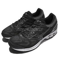 Mizuno Wave Rider 21 Black White Men Running Shoes Sneakers Trainers J1GC18-0309