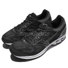 Mizuno Wave Rider 21 Black White Men Running Shoes Sneakers Trainers J1GC18-0309