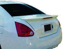 JSP Rear Wing Spoiler For 2004-2008 Nissan Maxima Primed OE Style w / LED 388017