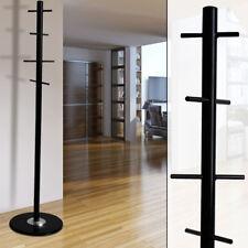 Stenditoio Stanza del sonno Corridoio Stand Armadio nero 8x asta gancio marmo