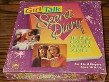 Vintage Girl Talk Secret Diary Board Game from Golden 1991 Complete