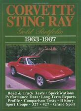 Corvette Sting Ray oro Portfolio, 1963-67 (Brooklands ROAD Tests) (Brooklands B