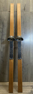 Vtg Nordic Track WOOD SKIS ONLY Ski Excercise Machine replacement parts pair Pro