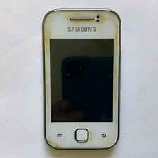 SAMSUNG GALAXY GT-S5360 Smartphone White UNTESTED - NO Battery & Cover