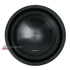 "ALPINE SWT-10S2 Car 10"" SWT Series Single 2-ohm Shallow Mount Truck Subwoofer"