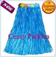 Ladies' Hawaiian Hula Luau Grass Skirt Floral Waist Band Multi-Colours 80Cm