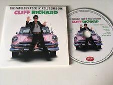 Cliff Richard PROMO CD ALBUM The Fabulous Rock 'N' Roll Songbook