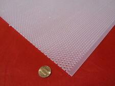 Polypropylene Perforated Sheet 18 Thick X 32 X 48 18 Dia Holestaggerd