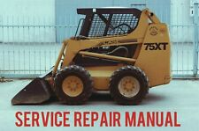 BEST Case 75XT Skid Steer Loader Workshop Service Repair Workshop Manual CD
