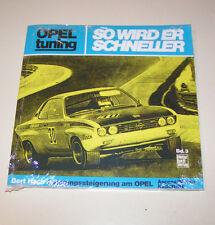 Tuninganleitung - Opel Ascona / Manta / Kadett / GT - So wird er schneller!