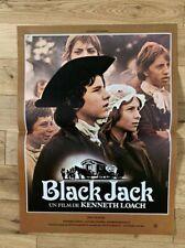 BLACK JACK Ken Loach jean franval  affiche cinema 1979 -40x55cm- Neuve !