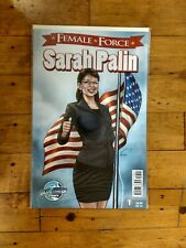 Bluewater Female Force Sarah Palin #1 Unread Condition 3rd