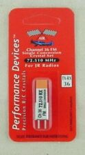 JR Single Conversion 72Mhz FM Transmitter/Receiver Crystal Set Channel 36 72.510