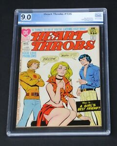 Heart Throbs #135 PGX 9.0 DC Comics 1971 Love & Romance