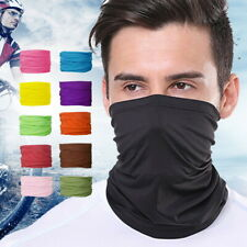 Multi Use Bandana Face Cycling Biker Outdoor Snood Neck Scarf Tube Gaiter HOT