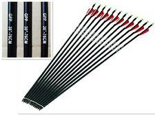 """12pcs Replaceable30""""Carbon arrow,500 spine,Hunting & archery/compound/recurve"""