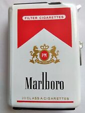 Marlboro case cigarette+ lighter,Old collection . New.513 FREE SHIPPING