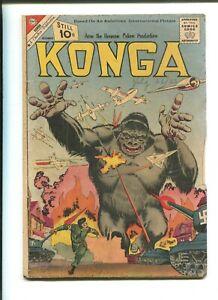 """KONGA #4 - CHARLTON """"The Fisherman Collection"""" (2.0) 1961"""